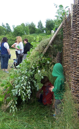 Den building at the National Museum of Rural Life