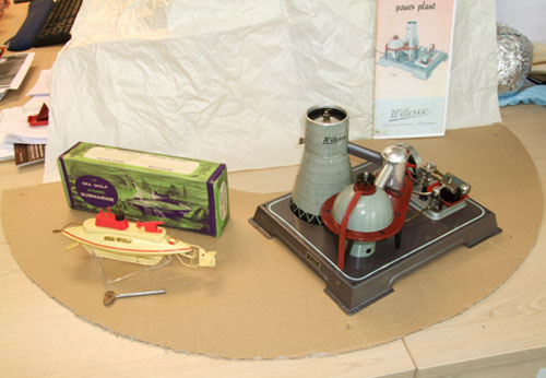 Some of the toys which are to go on display