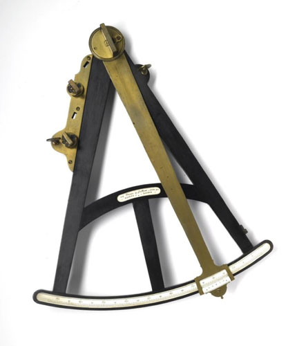 Octant made by Edward Nairne of London in 1774