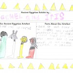 Four sons of Horus by Rachel & Iris