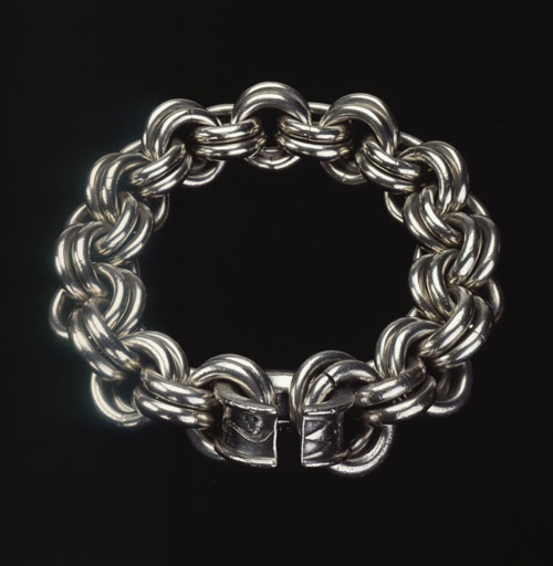 Solid silver chain