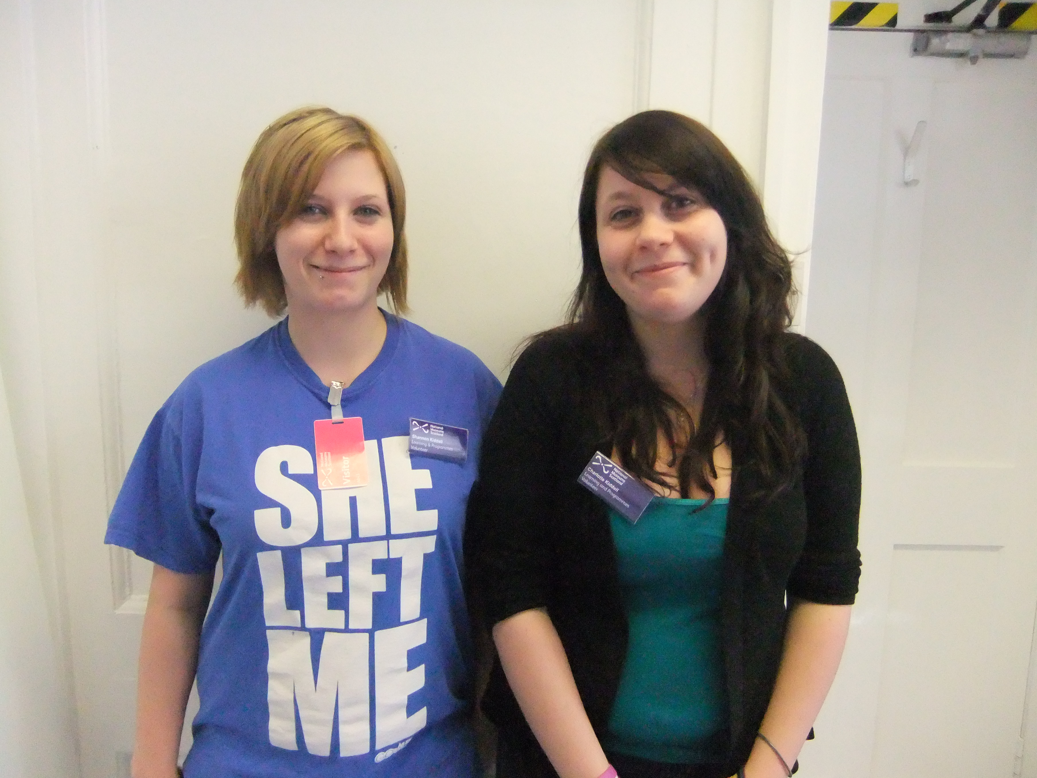 Shannon and Charlotte Kiddell, Youth Ambassadors for Stories of the World