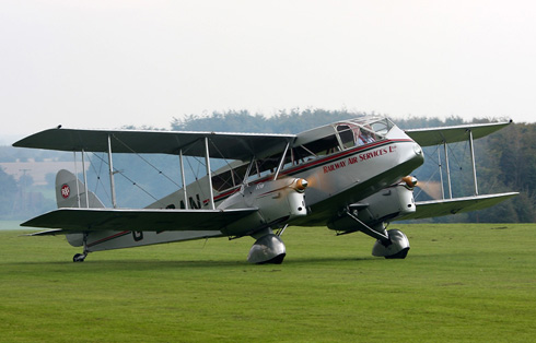 De Havilland DH 84 Dragon  © Paul Johnson