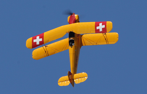 A Jungmann aircraft will fly at the Airshow on Sat 23 July 2011