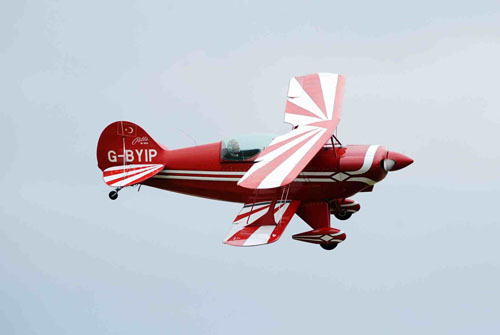 welcome return to the Pitts special that will perform aerobatics at the Airshow on Sat 23 July 2011