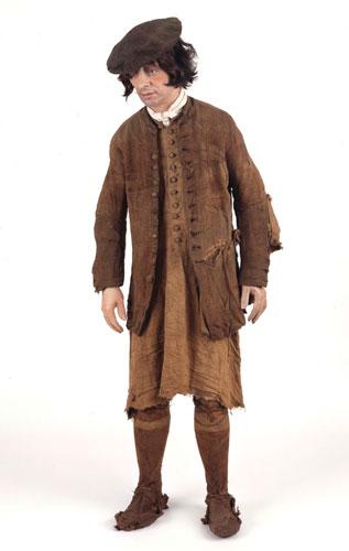 Costume worn by 'Arnish Man'