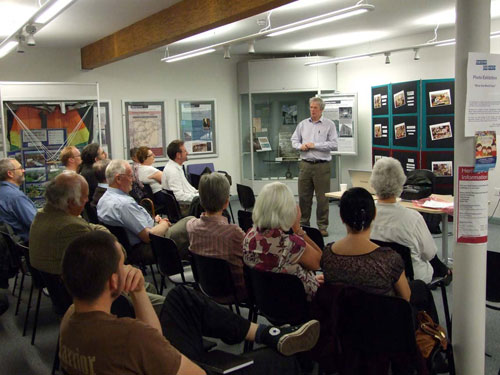 David Caldwell addresses the History of Armadale Association