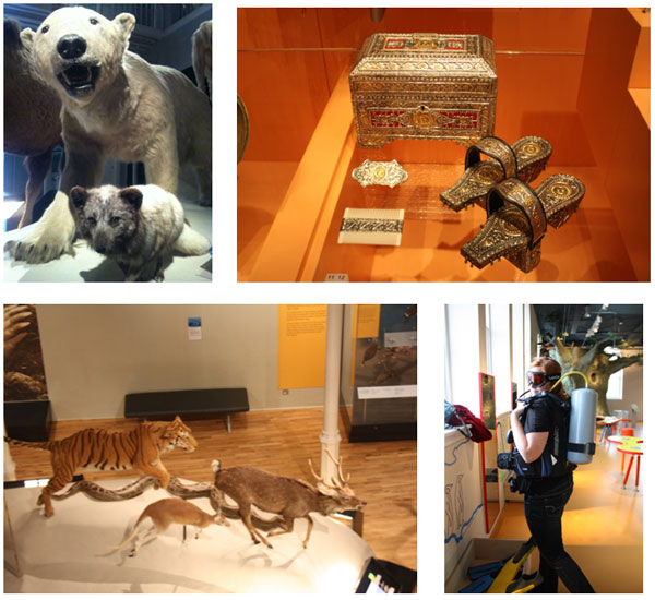 A small selection of some of the photographs taken by the Fife Museums Forum