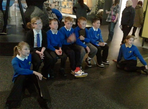 Watching the video in the Earth in Space gallery