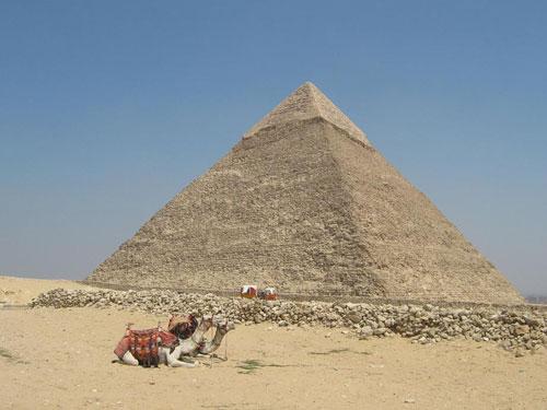 The Pyramid of Khafre at Giza