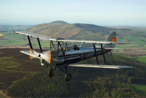 Tiger Moth G-ANRF will be flying at the Airshow, National Museum of Flight, East Fortune on Saturday 28 July 2012