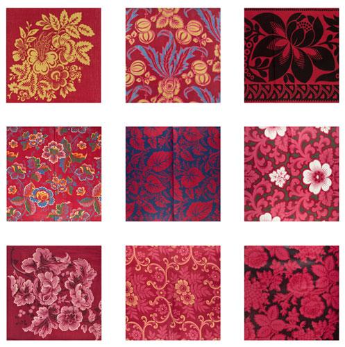 Turkey red patterns