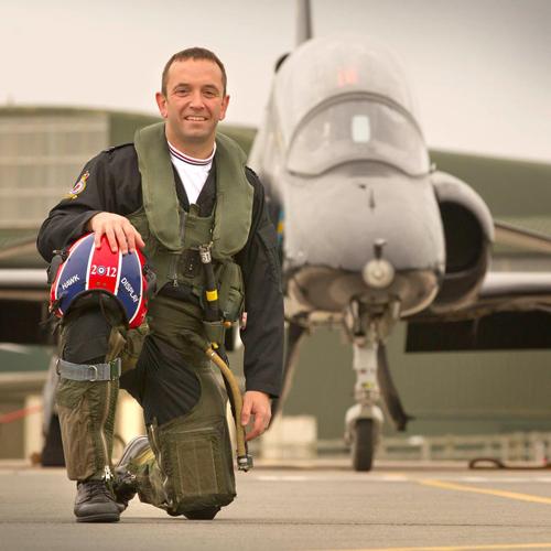 Flight Lieutenant Phil Bird © MOD Crown Copyright