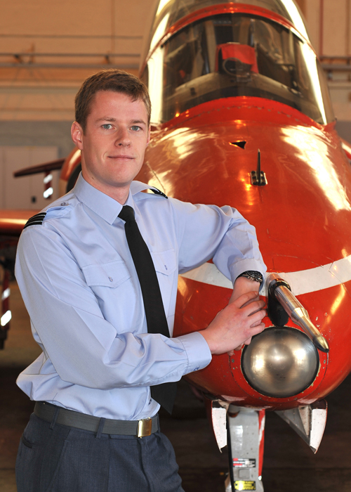 Flight Lieutenant Rob Staveley © MOD Crown Copyright
