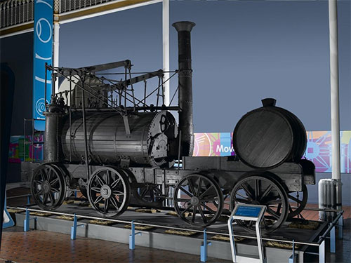 The Wylam Dilly in the Connect gallery: bane of Julie's life!