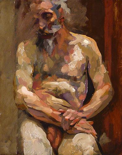 Oil on canvas by Alan McGowan, 2011. Image © Alan McGowan