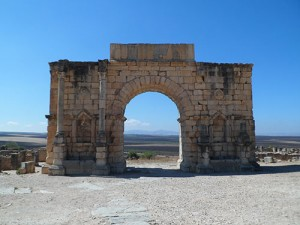 The Volubilis arch