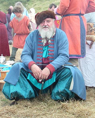 Viking costume wasn't drab