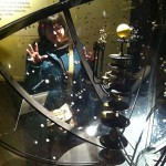 Chella looking through the orrery