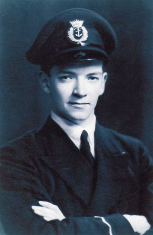 David on his return from Russia in 1943.