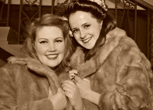 The Blitz Sisters will be appearing on Sunday 12 May at  Wartime Experience, National Museum of Flight, East Fortune