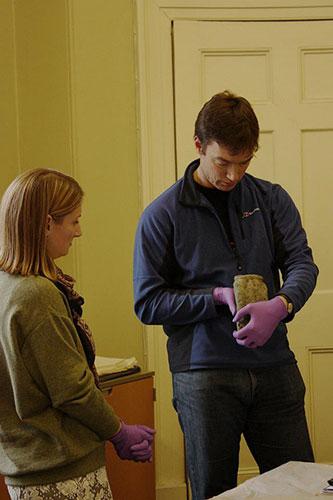Fraser Hunter examines the stone owl
