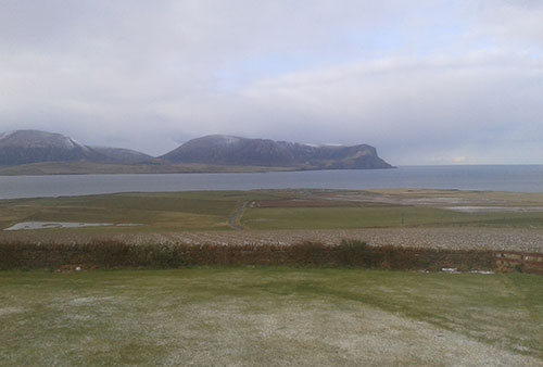 Spectacular views of Hoy