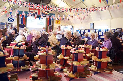 Telegram stories with tea & cake: meeting the Russian Arctic Convoys veterans in May 2013