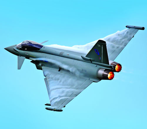 Typhoon FRG4 to fly at the Airshow, National Museum of Flight, East Fortune on Saturday 27 July 2013 © Crown copyright