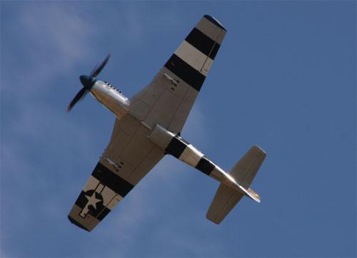 P51 Mustang, Airshow, National Museum of Flight, East Fortune, July 2009 © Robert G Henderson