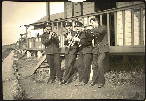 Members of Royal Marine Band
