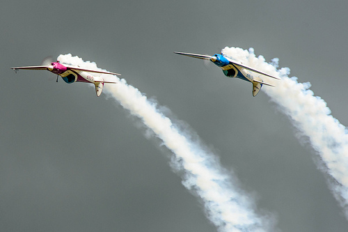 SWIP team performing at the AIrshow, National Museum of Flight, East Fortune on Saturday 27 July 2013 © Spencer Harbar