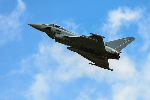 Eurofighter Typhoon at the Airshow, National Museum of Flight, East Fortune on Saturday 27 July 2013 © Spencer Harbar