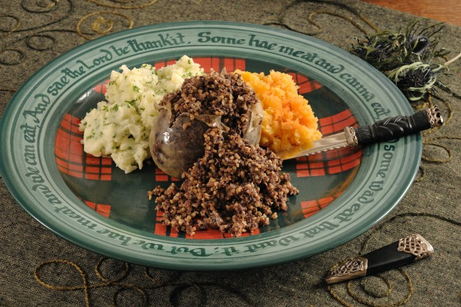 Traditional haggis and other Scottish recipes will be demonstrated by Wendy Barrie at Burns Unbound!