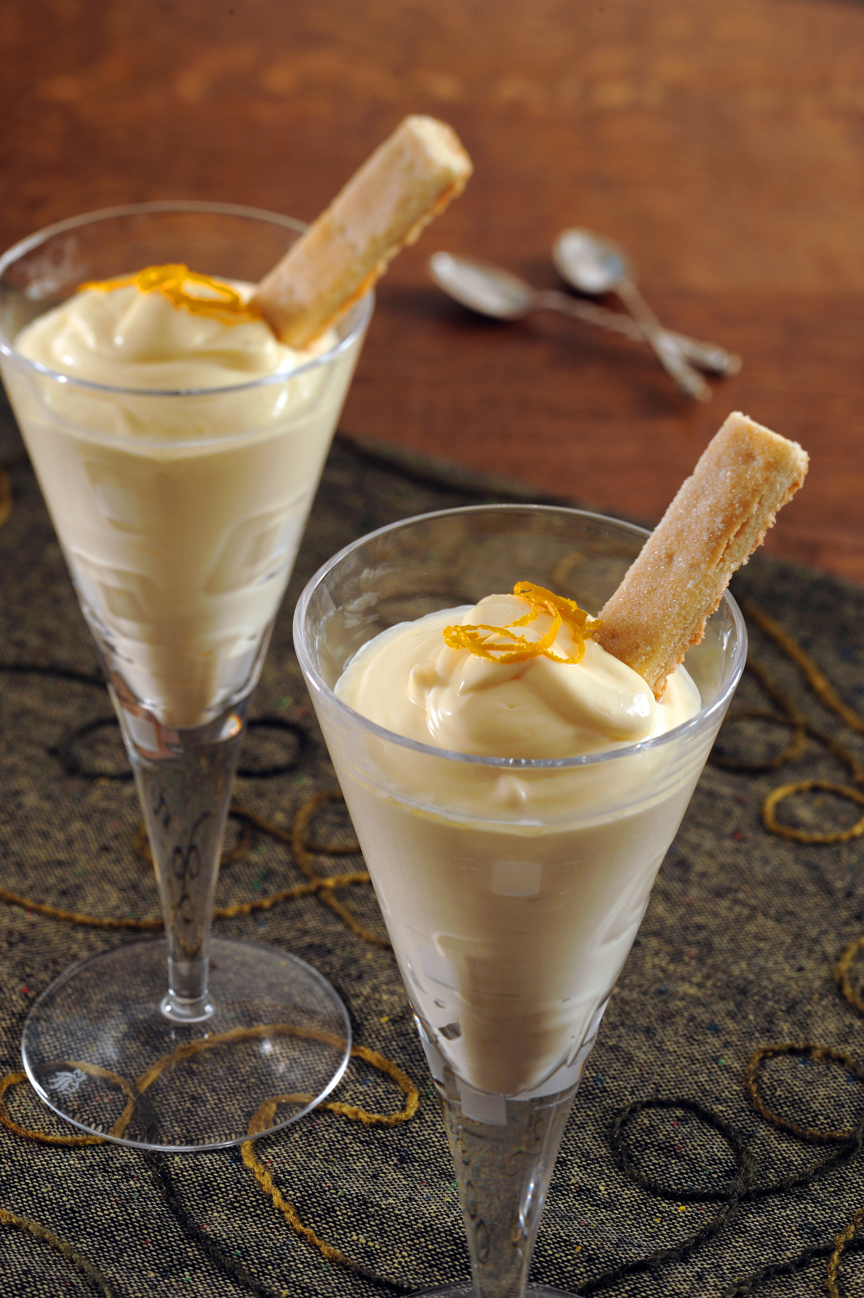 A delightful dessert and other Scottish recipes will be demonstrated by Wendy Barrie at Burns Unbound!
