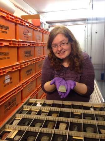 Maya investigates archaeological finds in our stores.