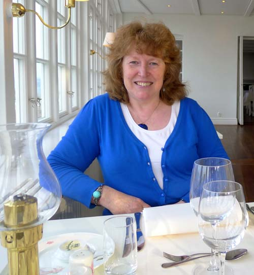 Wendy Barrie is a campaigner for the finest local food