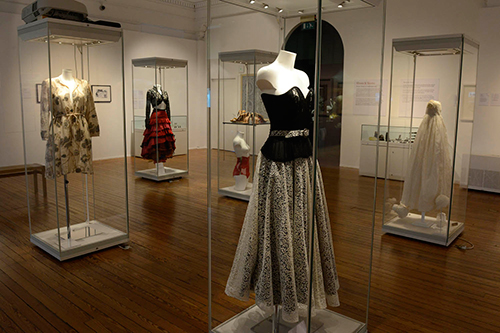 Legacy of Lace exhibition at the Dick Institute, Kilmarnock