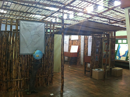 The new exhibition at Chichiri Museum, Blantyre, Malawi