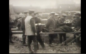 Still from 'The Wonderful Organisation of the R.A.M.C.' film, produced by the War Office, 1916, IWM 133, Courtesy of the Trustees of the Imperial War Museum