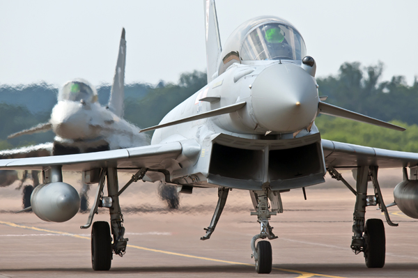 RAF Eurofight Typhoon aircraft will be part of the line-up for the Airshow at National Museum of Flight, East Fortune on Saturday 26  July 2014