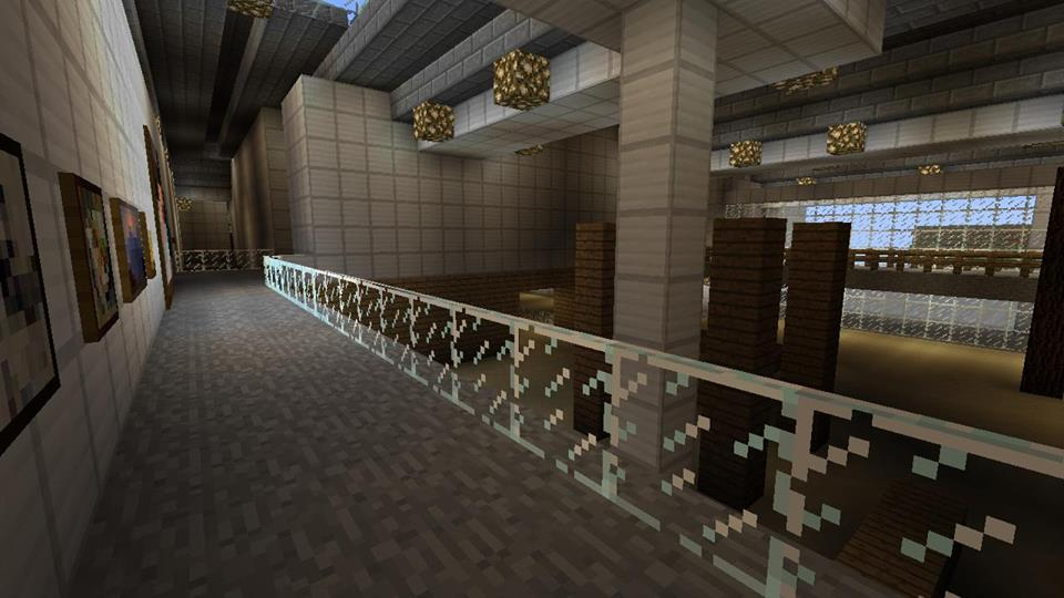 National Museum of Rural Life on Minecraft