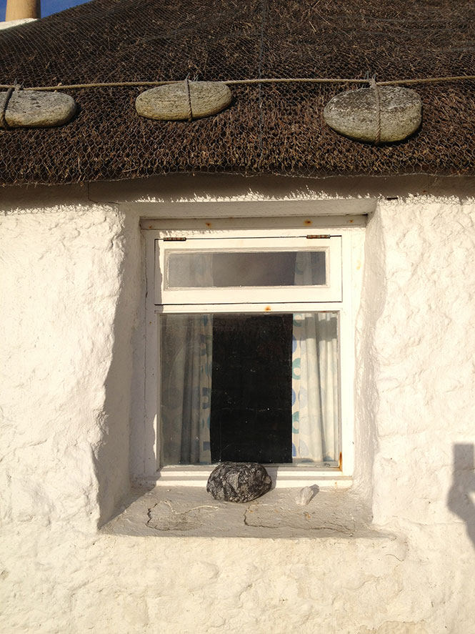 Cottage in the Outer Hebrides