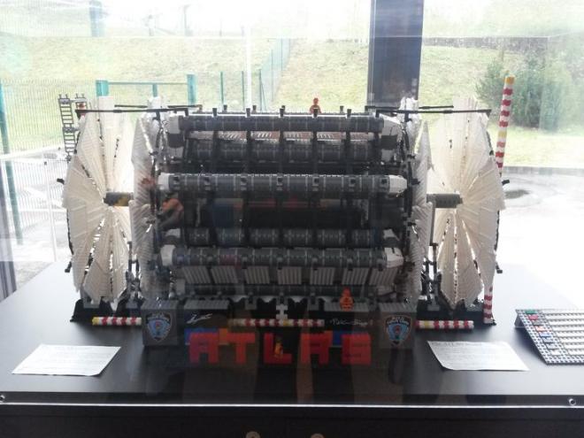The ATLAS detector in LEGO form