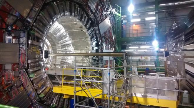 The CMS detector 100 metres underground