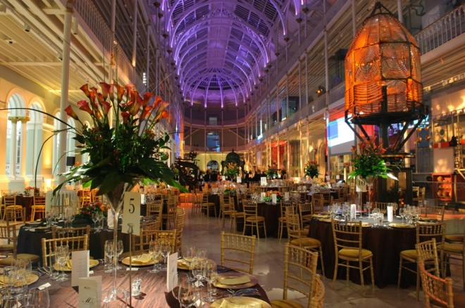 Dinner in the Grand Gallery