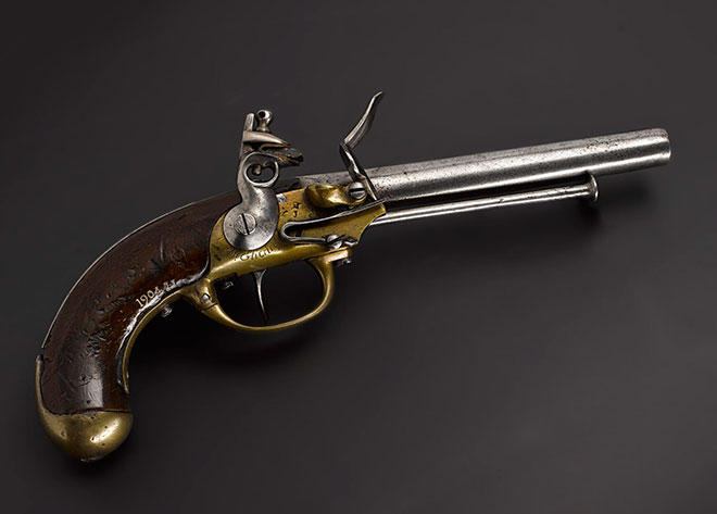 French cavalry pistol