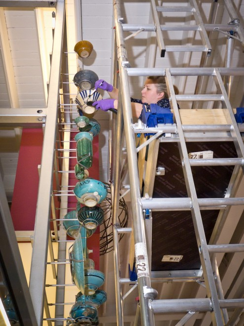 Conservation of the Window on the World gallery at National Museum of Scotland