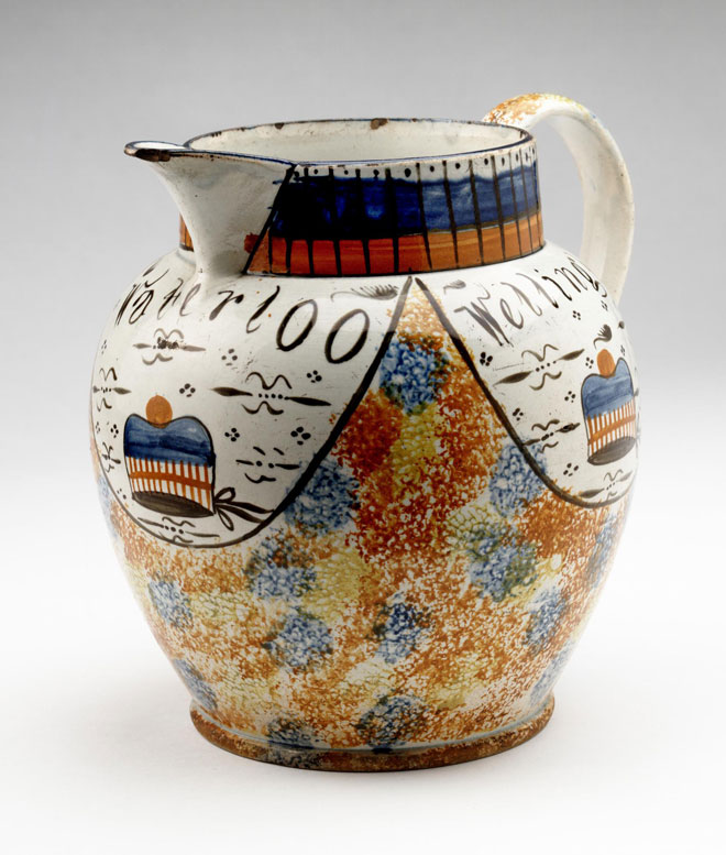 Jug made to celebrate the return of the Black Watch