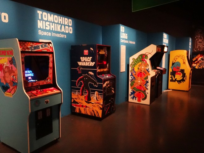 The Game Masters exhibition at National Museum of Scotland
